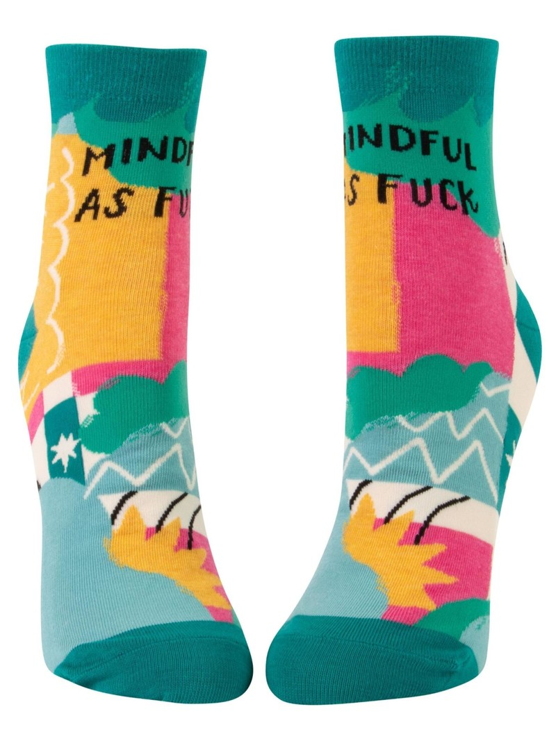 Blue Q Mindful as F*ck Women's Ankle Socks