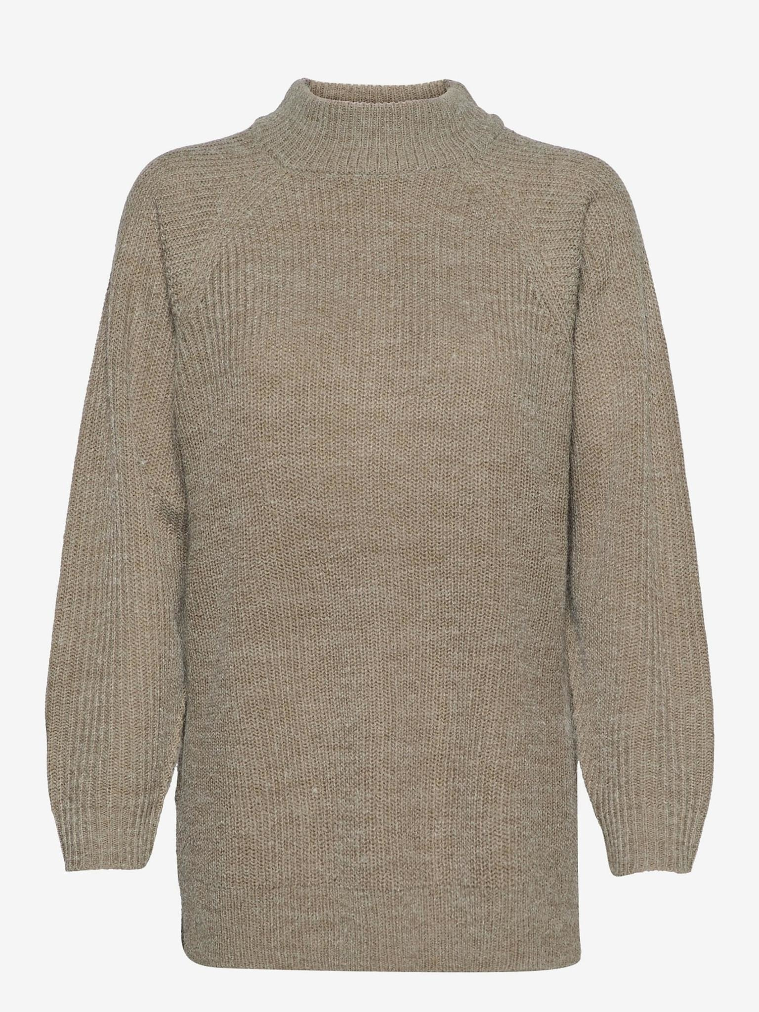 ICHI Marat Knit T Neck Pullover