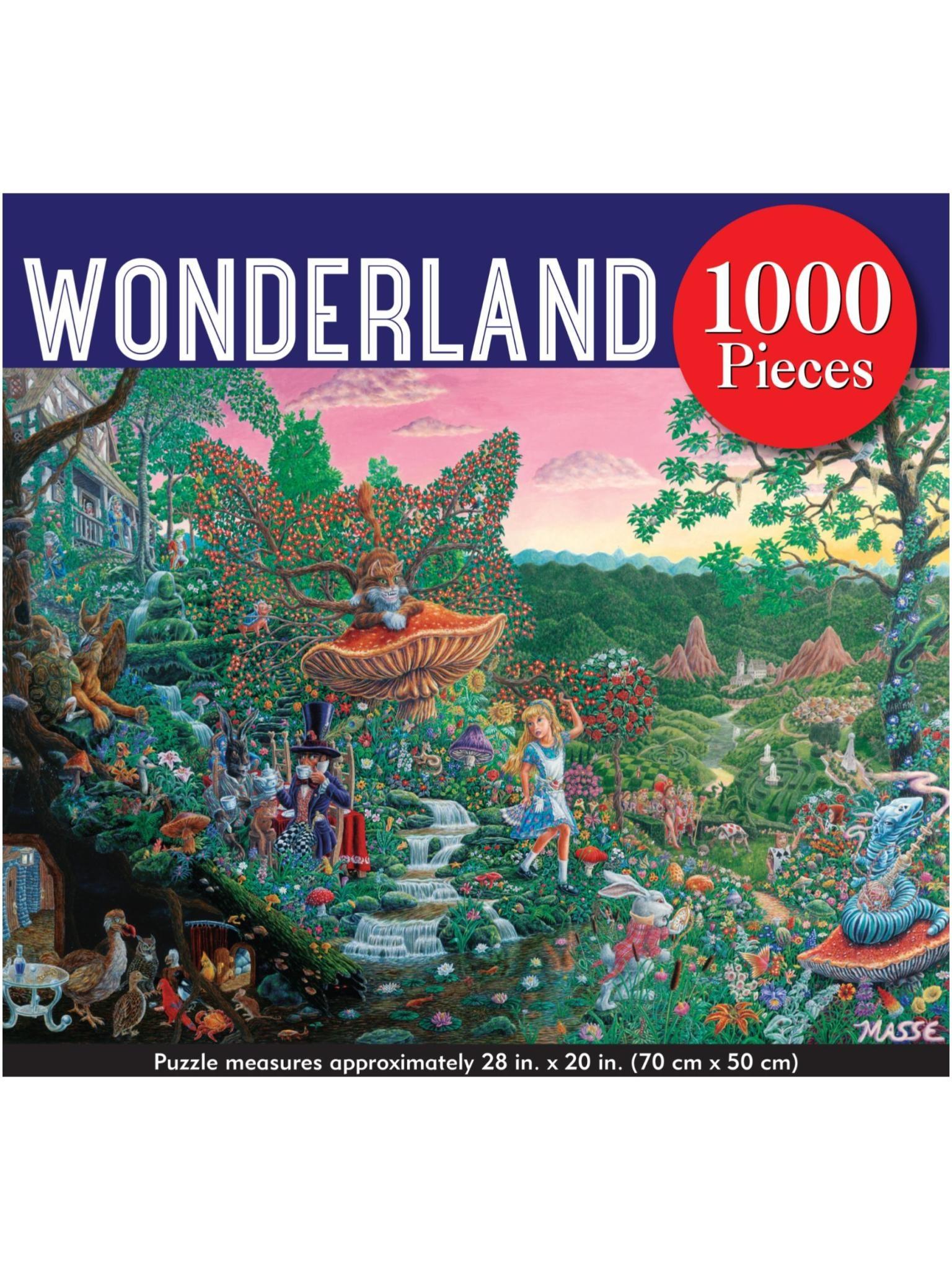 Peter Pauper Wonderland Puzzle