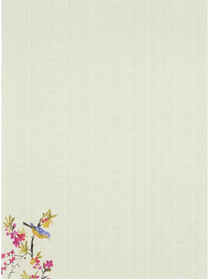 Peter Pauper Blossoms and Bluebirds Stationery