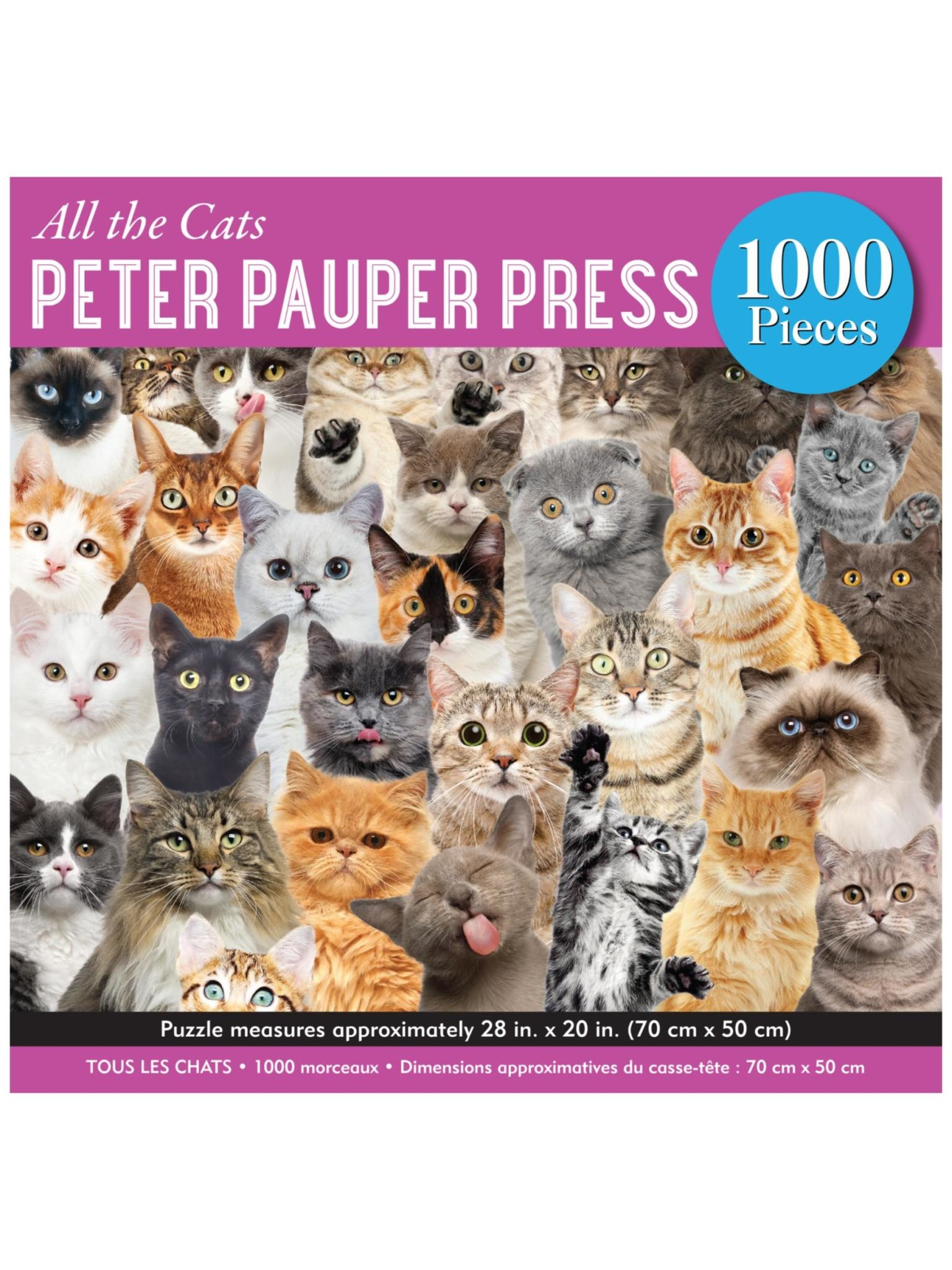 Peter Pauper All the Cats Puzzle