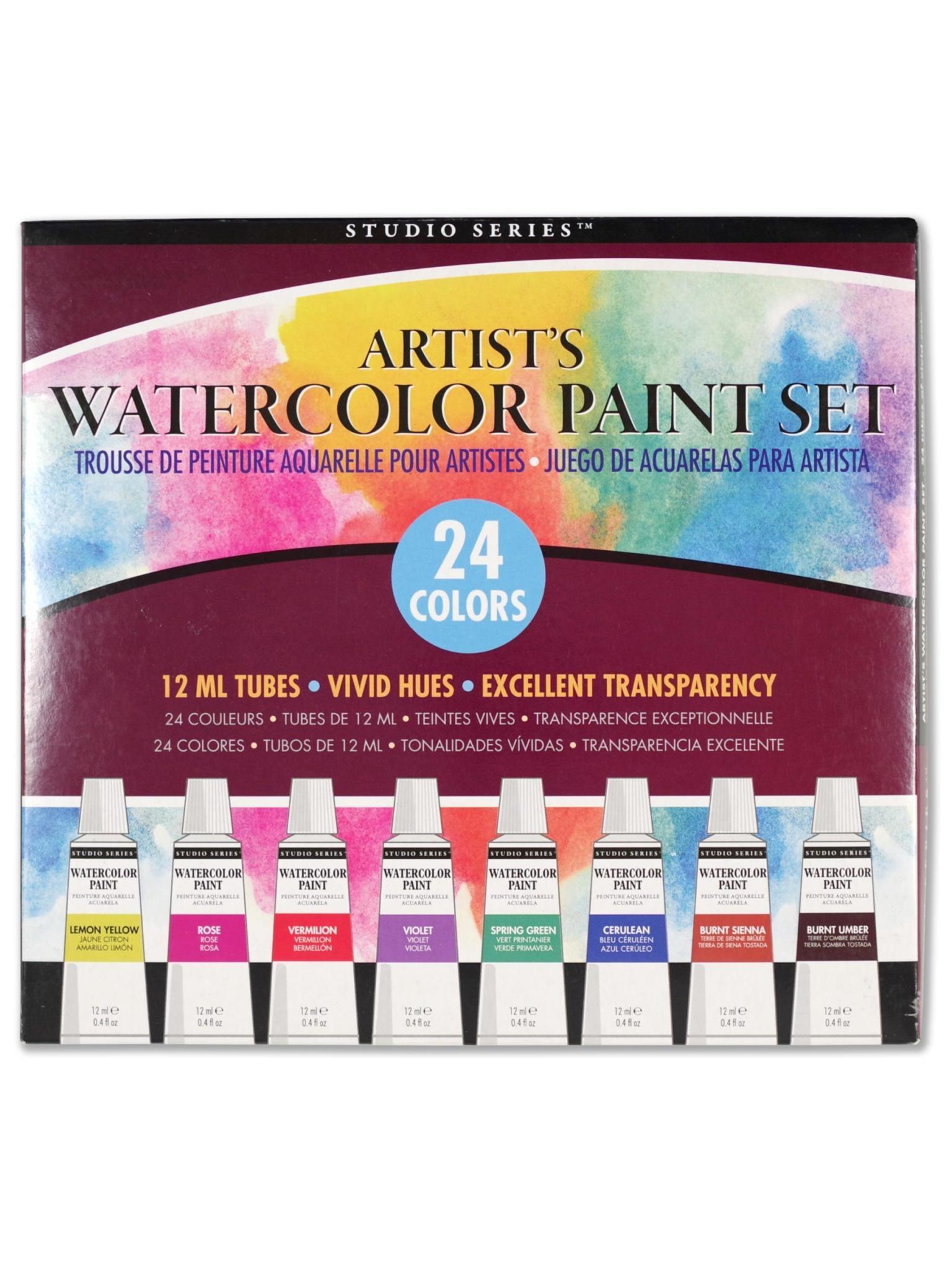 Peter Pauper Watercolor Paint Set
