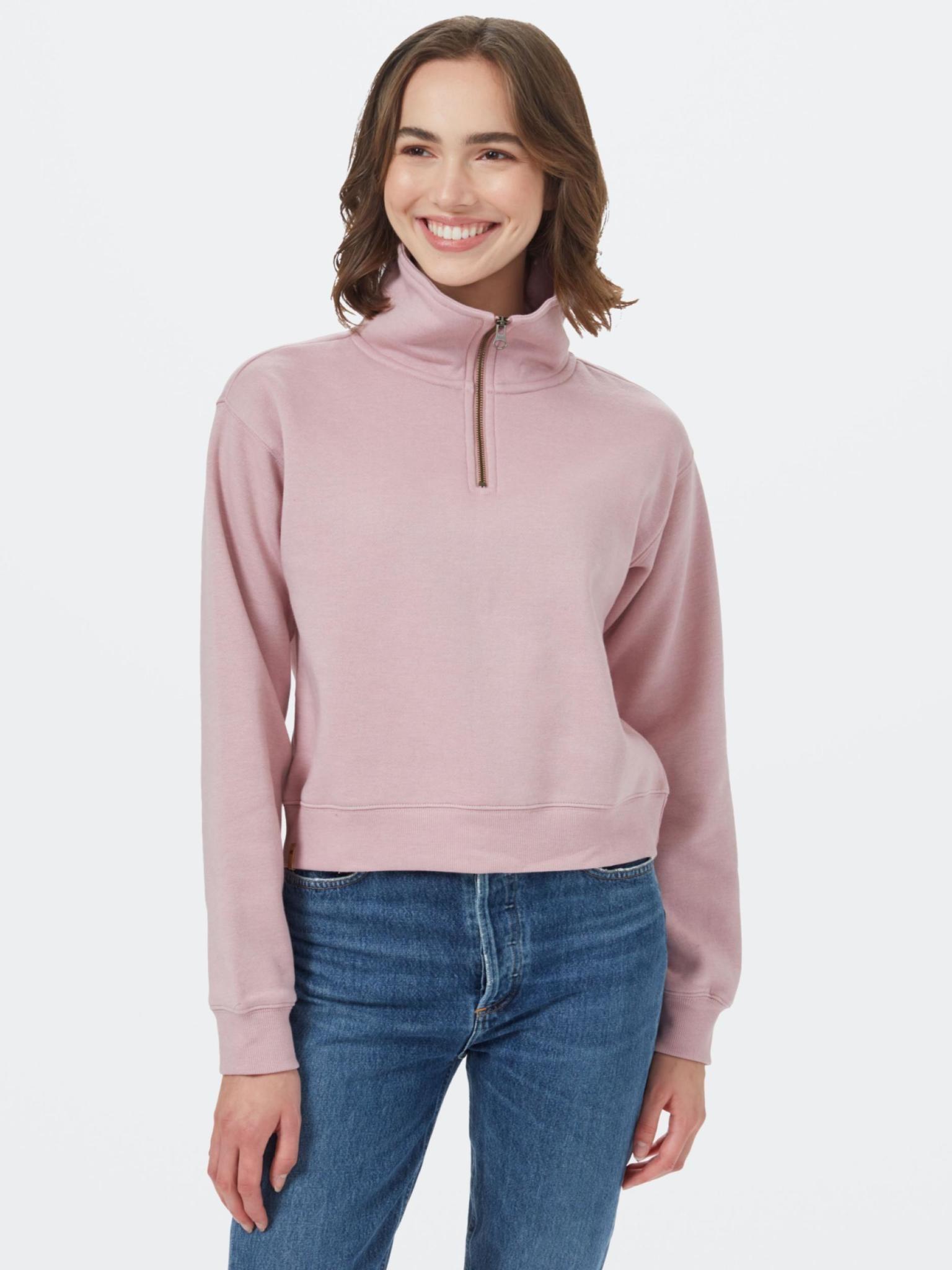 Tentree Women's 1/4 Zip Fleece