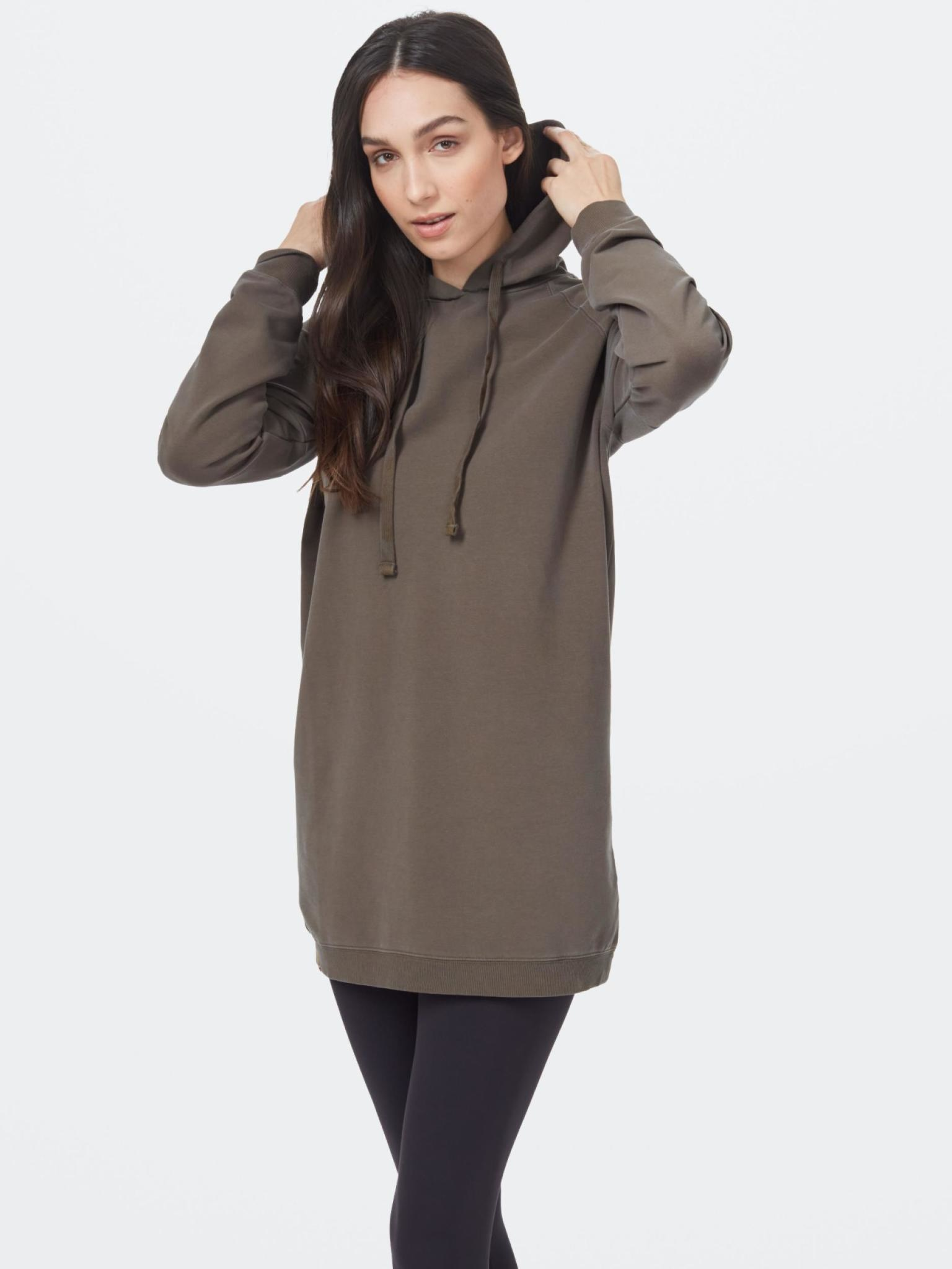 Tentree Women's Oversized French Terry Hoodie Dress