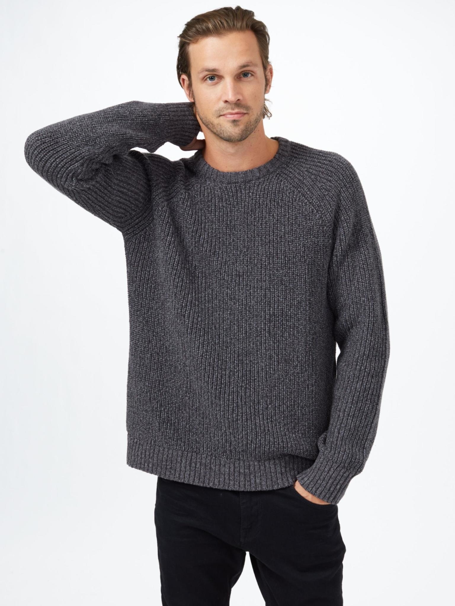Tentree Men's Highline Wool Crew Sweater