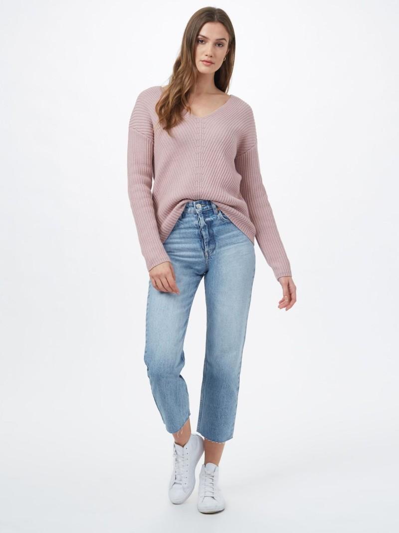 Tentree Women's Highline Cotton V-Neck Sweater