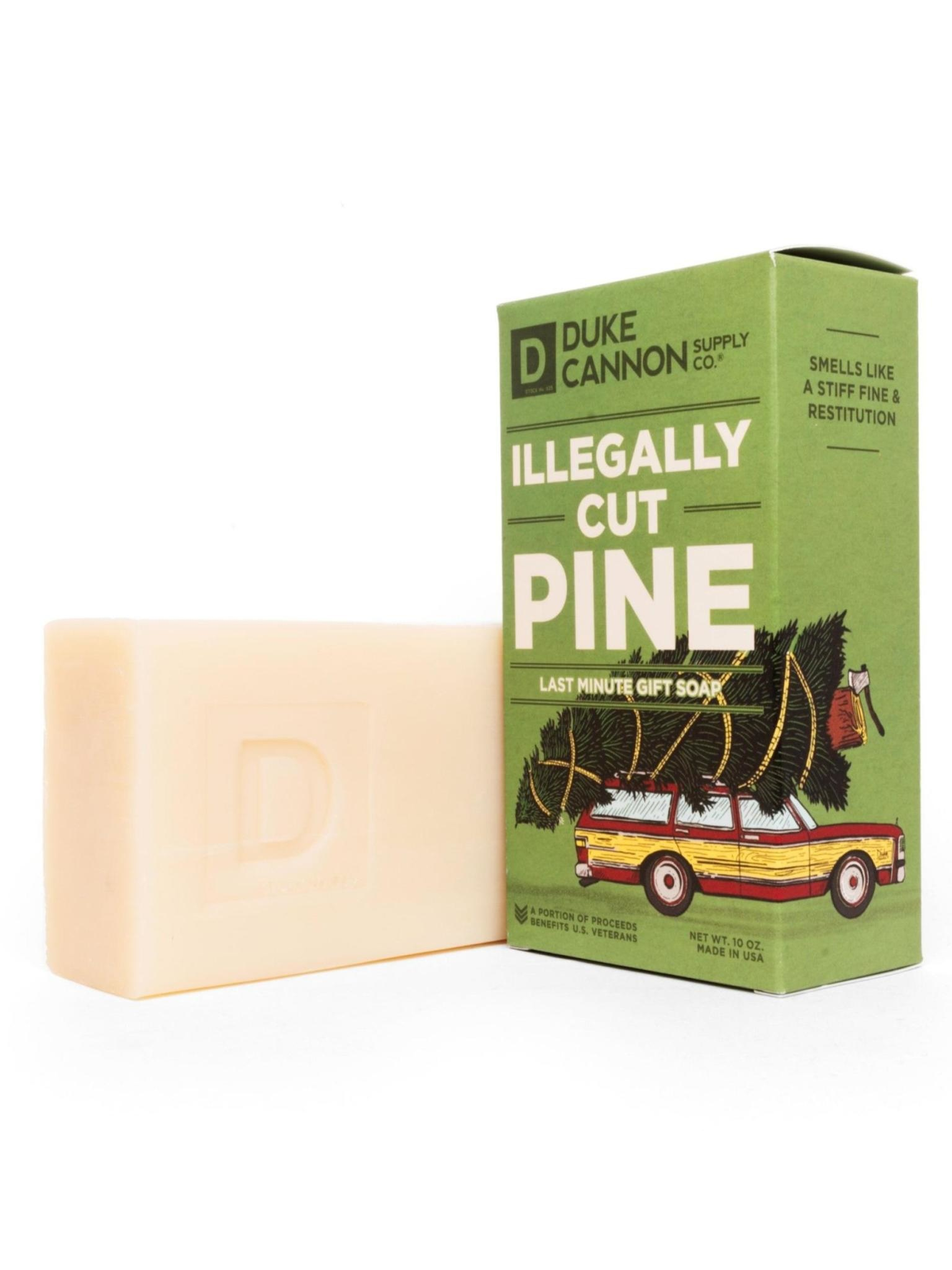 Duke Cannon Supply Co Big Ass Bar of Soap Illegally Cut Pine