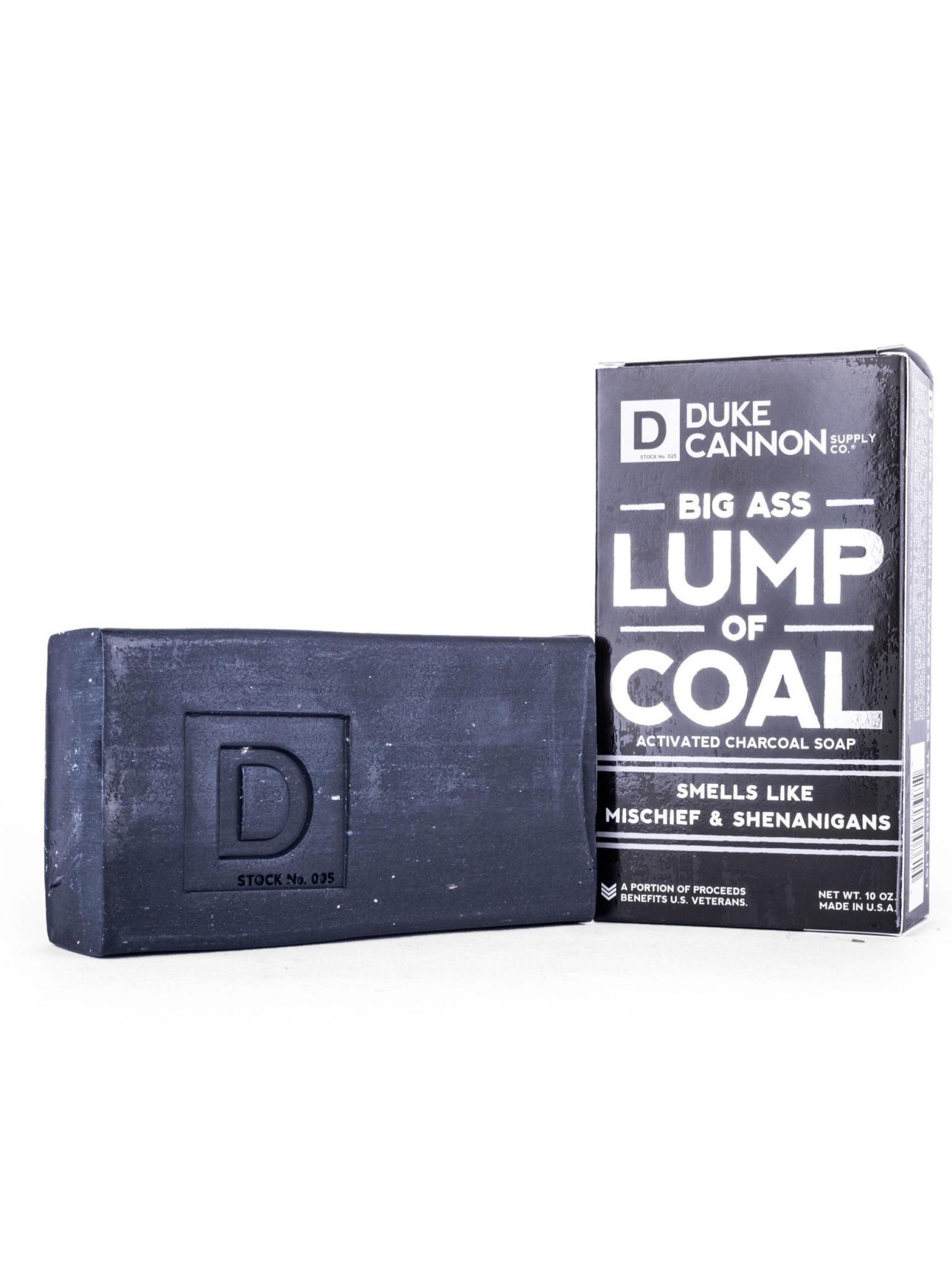 Duke Cannon Supply Co Big Ass Bar of Soap Lump of Coal