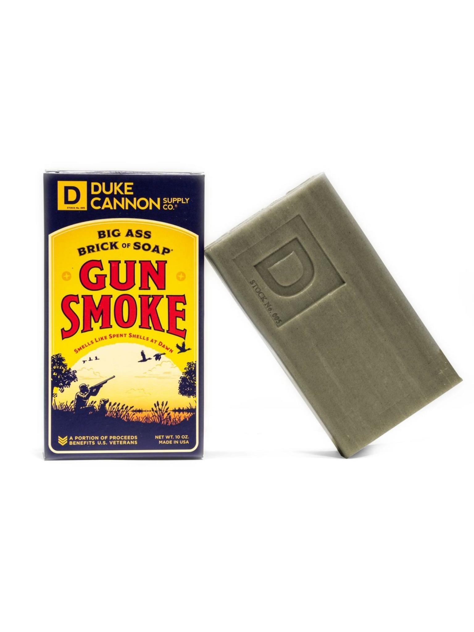 Duke Cannon Supply Co Big Ass Bar of Soap Gun Smoke