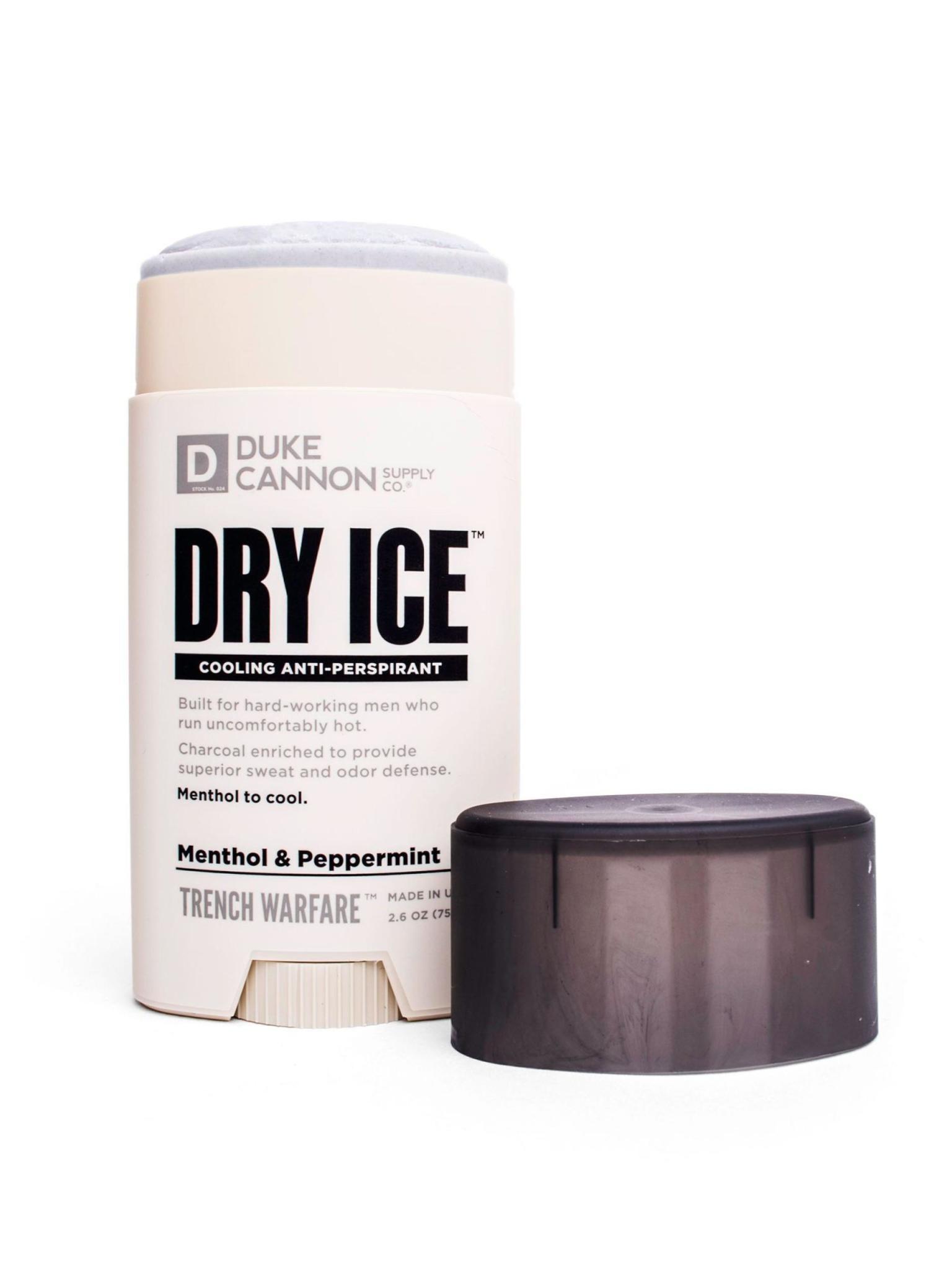 Duke Cannon Supply Co Dry Ice Antiperspirant Deodorant Menthol & Peppermint