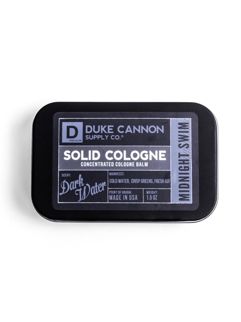 Duke Cannon Supply Co Solid Cologne Midnight Swim