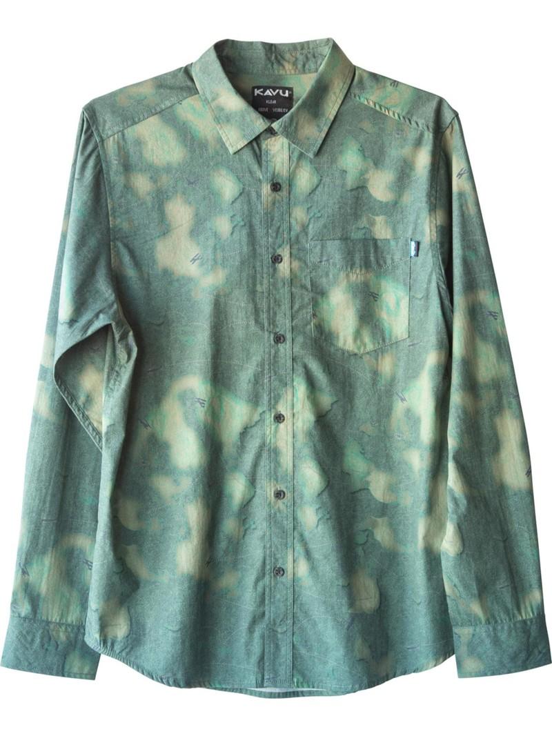KAVU Men's Valdez Long Sleeve Shirt