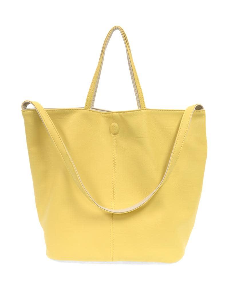 Joy Susan Riley Reversible Slouchy Tote Yellow (16)