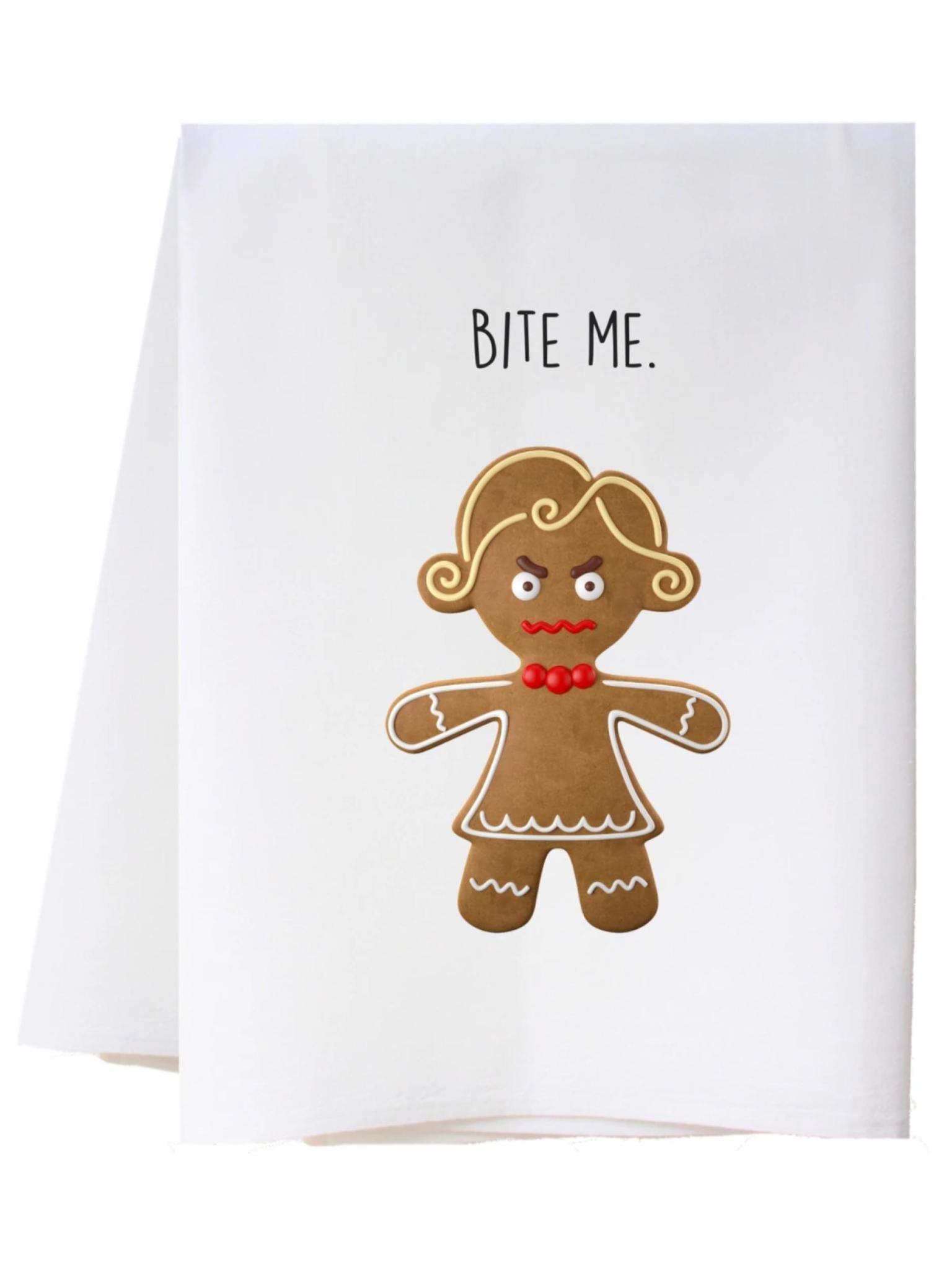 Southern Sisters Bite Me Flour Sack Towel