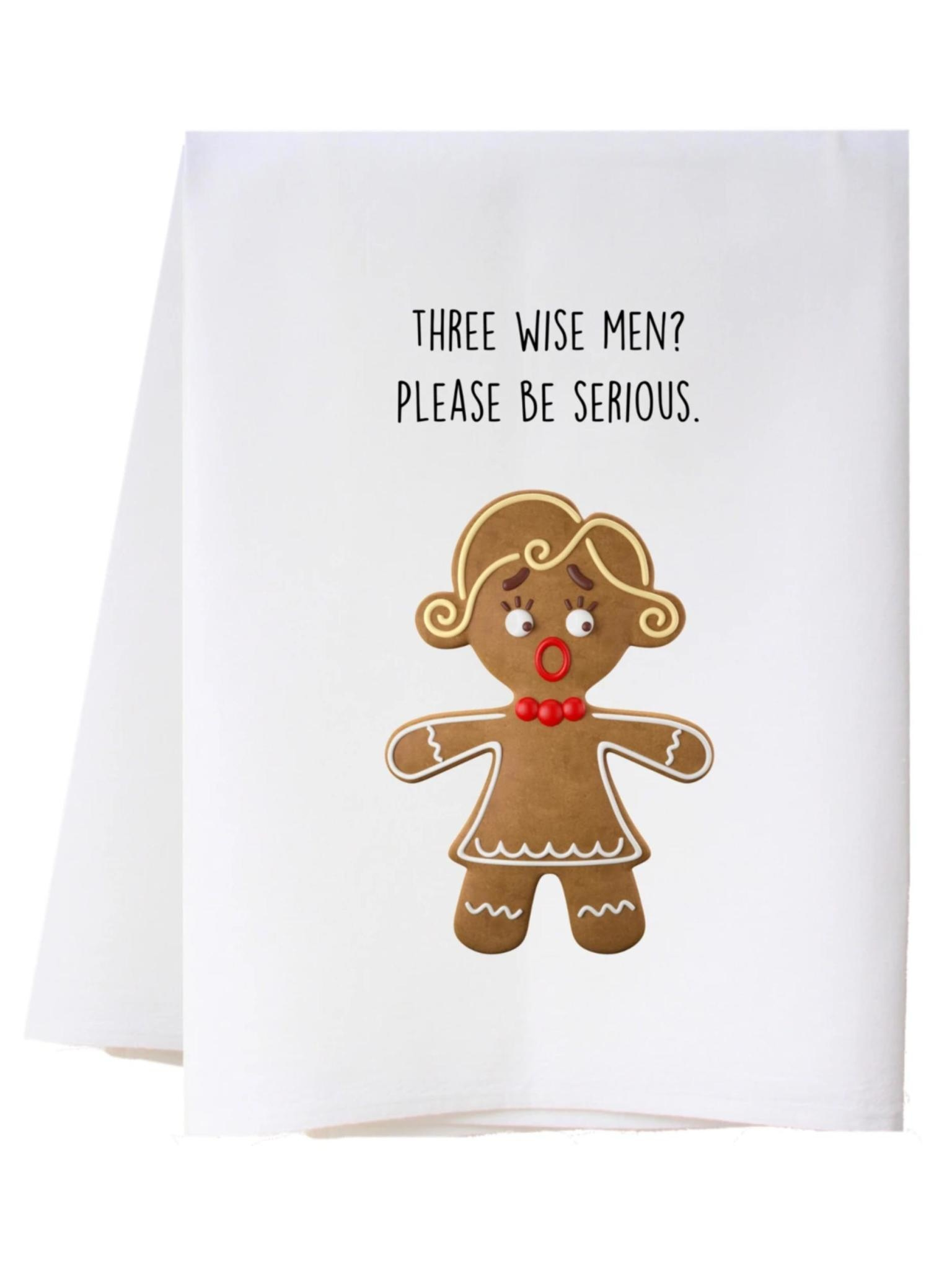 Southern Sisters Three Wise Men Flour Sack Towel