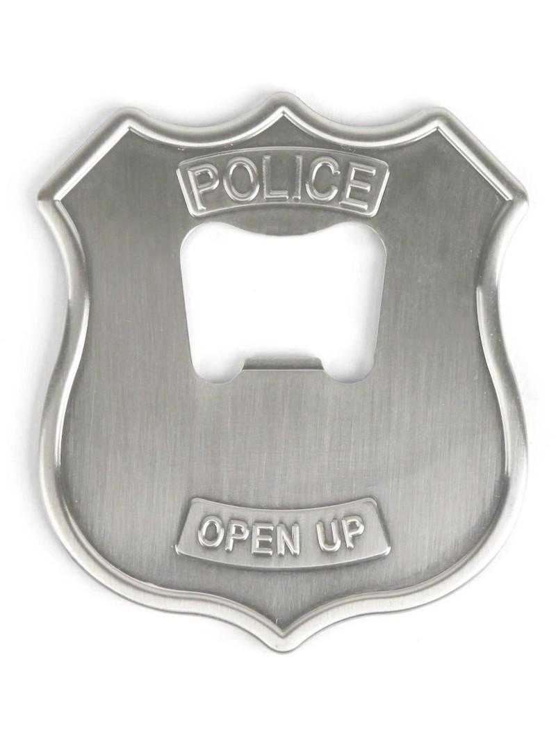 Kikkerland Police Badge Bottle Opener