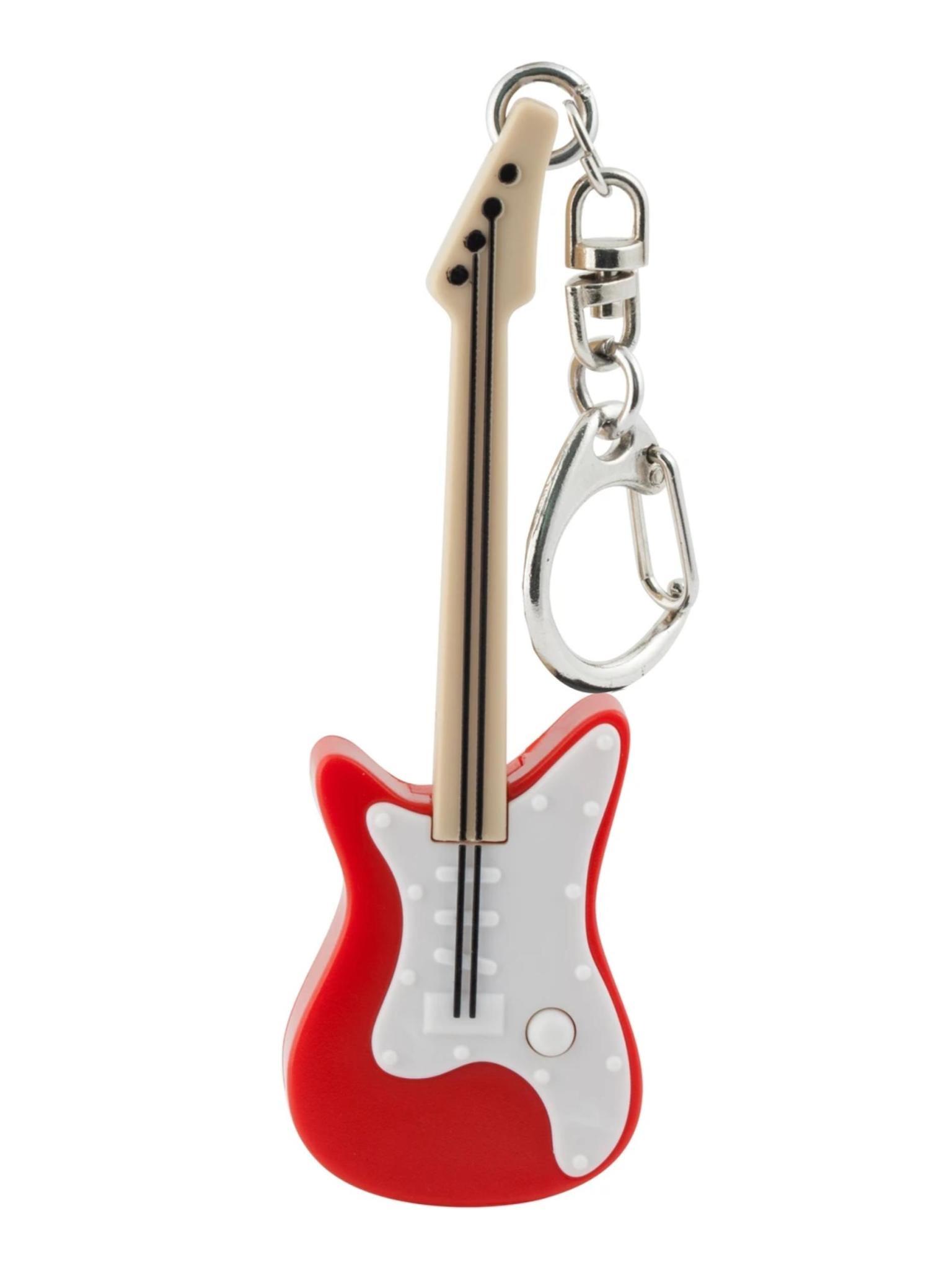 Kikkerland Guitar Keychain