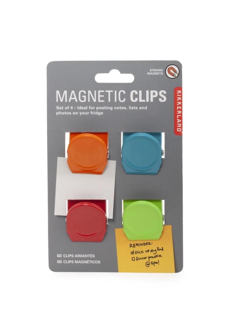 Kikkerland Magnetic Clips