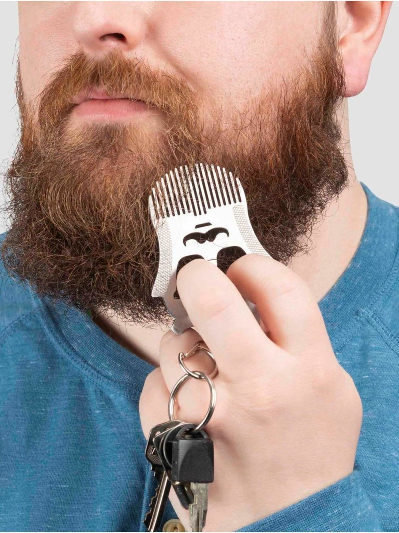 Kikkerland Beard Comb Tool