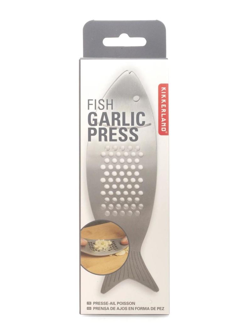 Kikkerland Fish Garlic Press