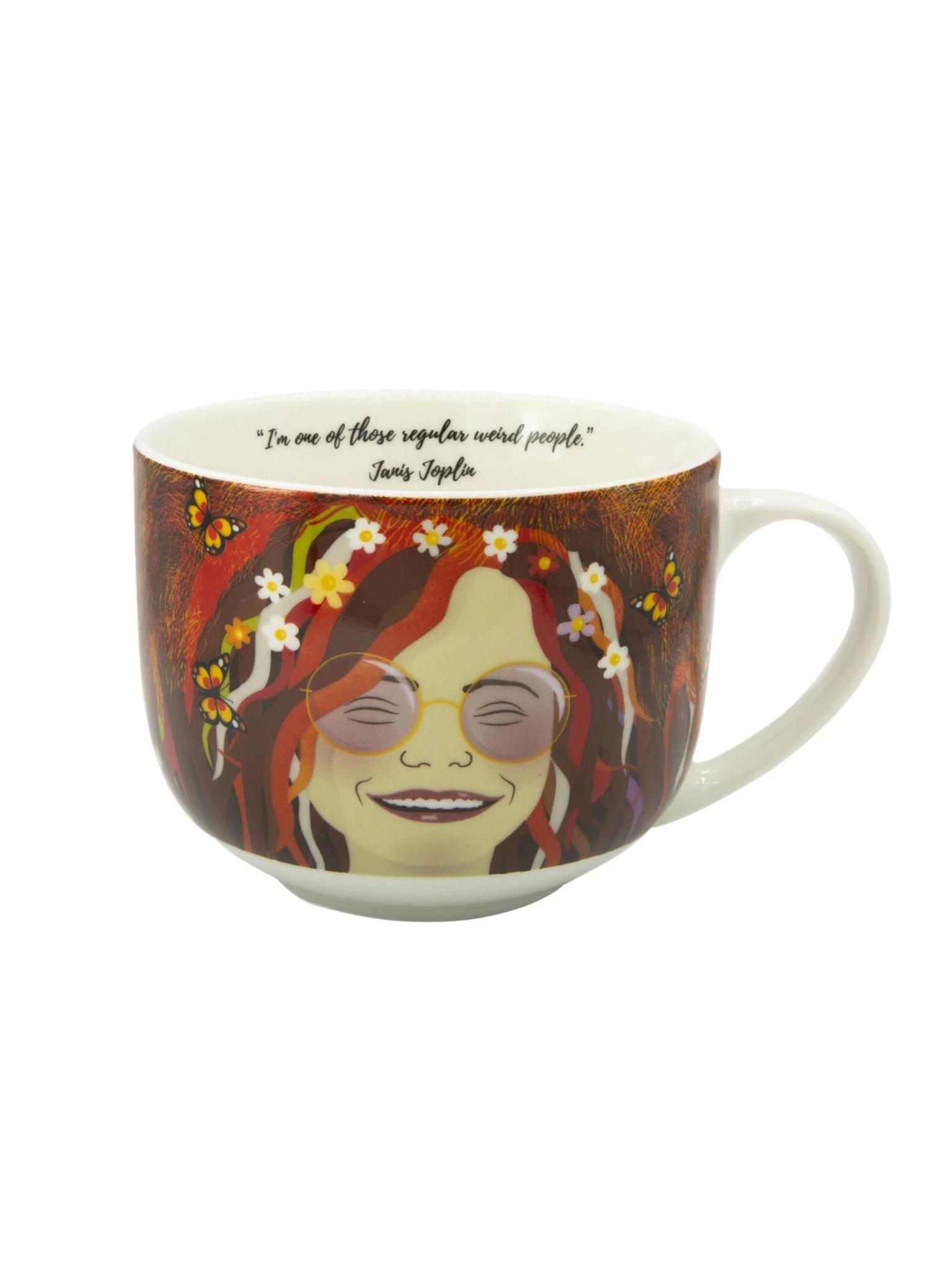 Kikkerland Janis Joplin Mug