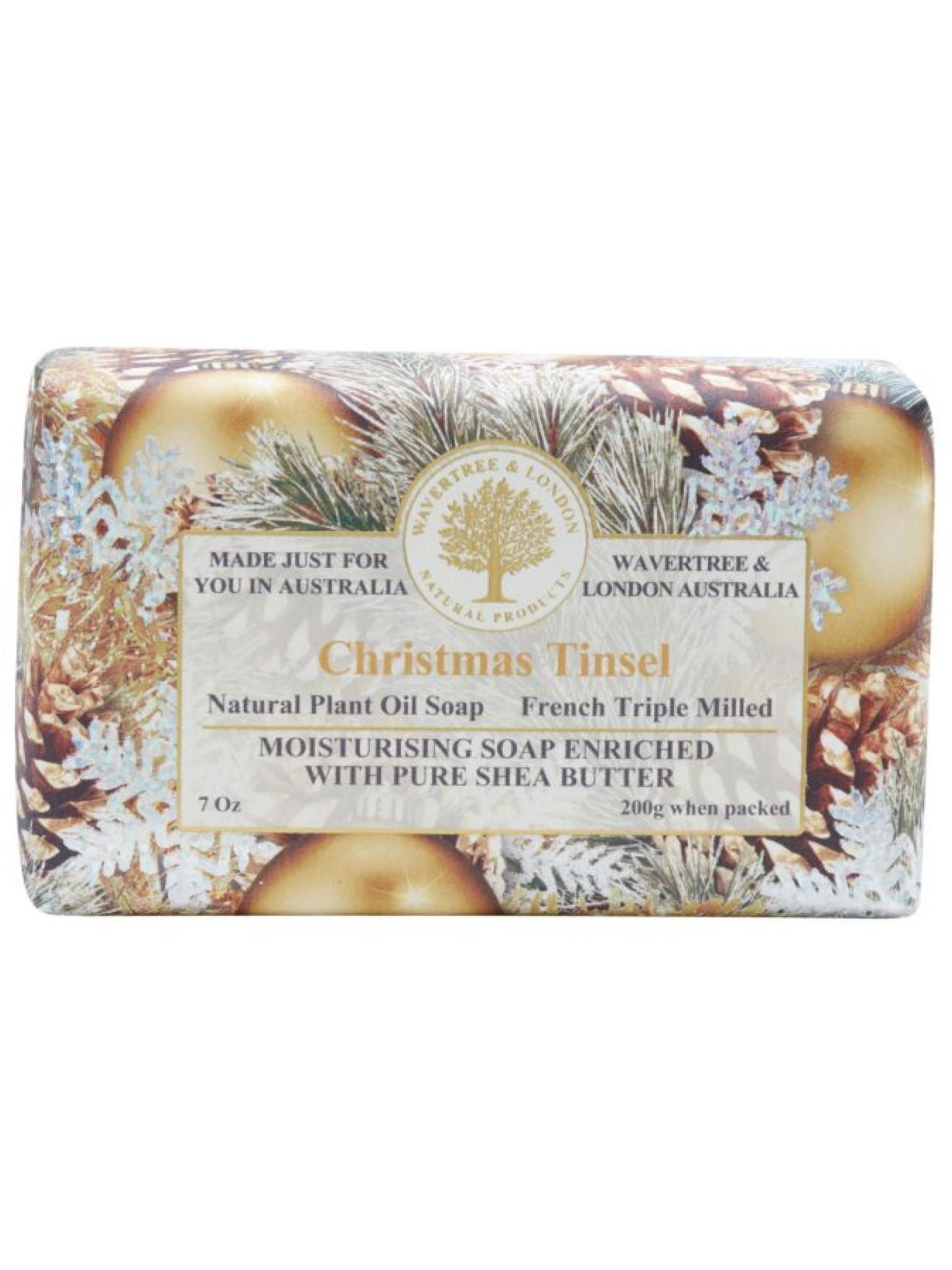 Wavertree & London Moisturizing Soap Christmas Tinsel