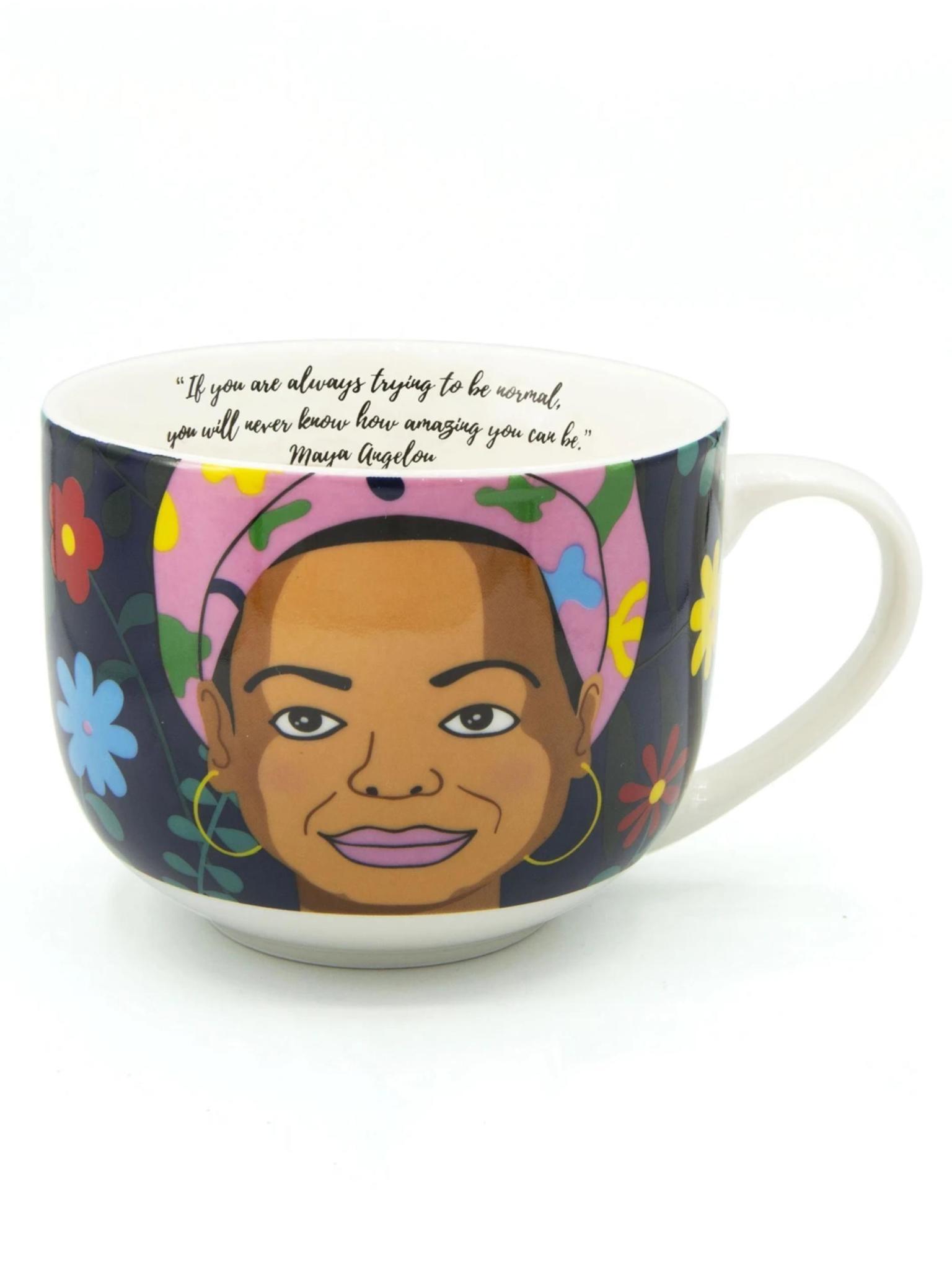 Kikkerland Mug Maya Angelou