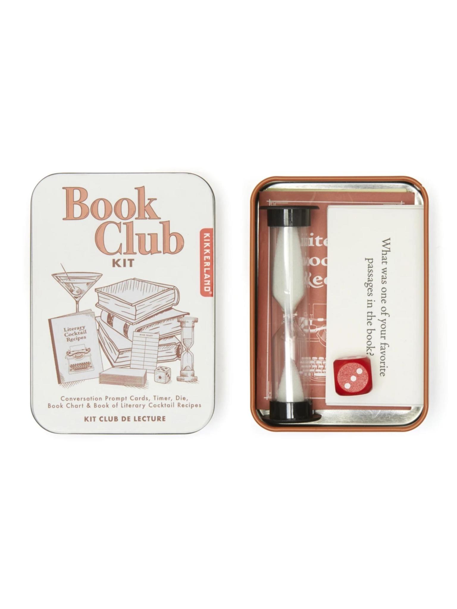 Kikkerland Book Club Kit
