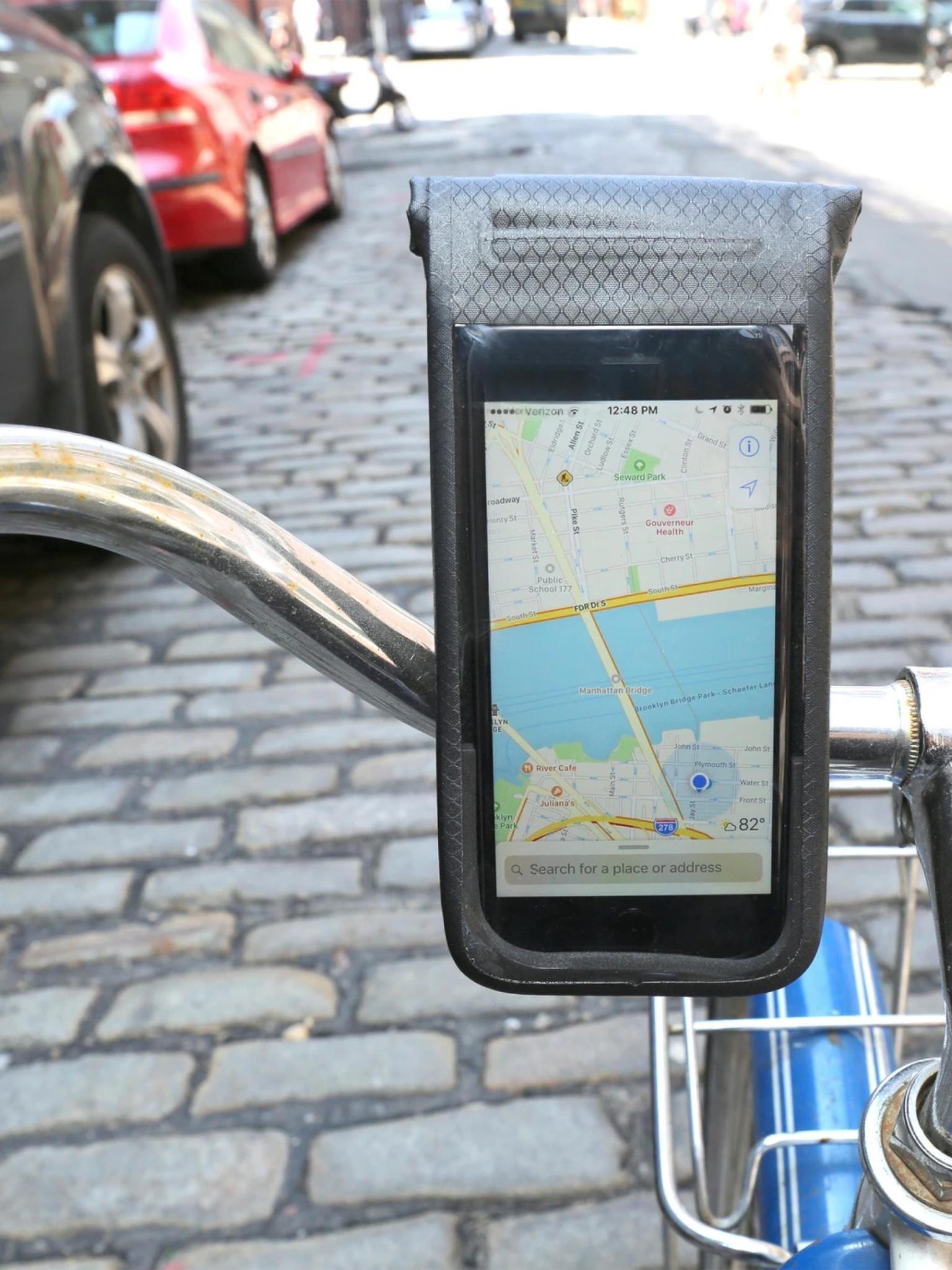 Kikkerland All Weather Bike Phone Mount