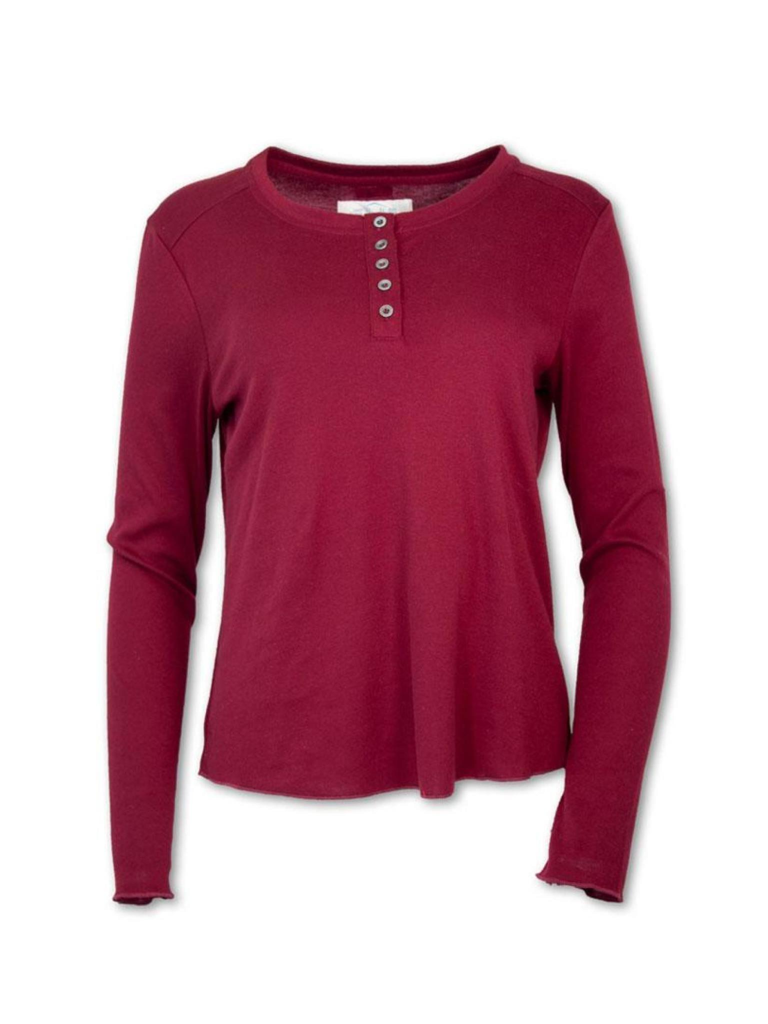 Purnell Women's Long Sleeve Henley