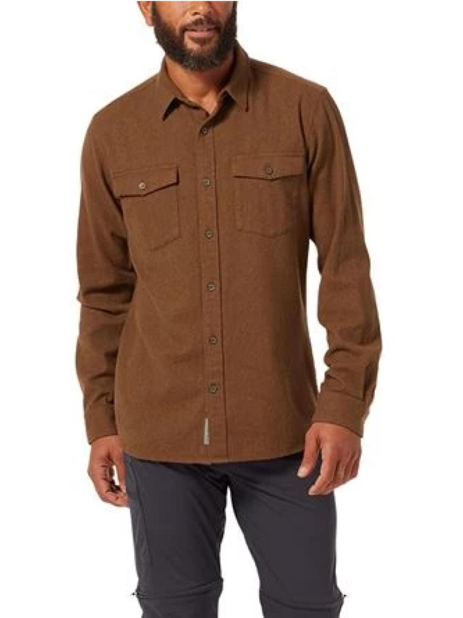 Royal Robbins Men's Bristol Organic Cotton Twill Long Sleeve