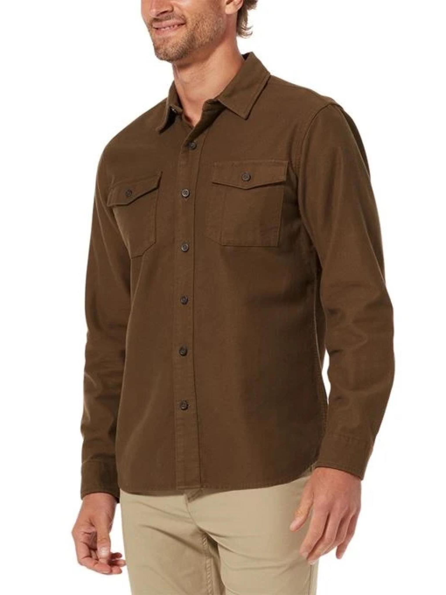 Royal Robbins Men's Organic Cotton Chamois Workshirt