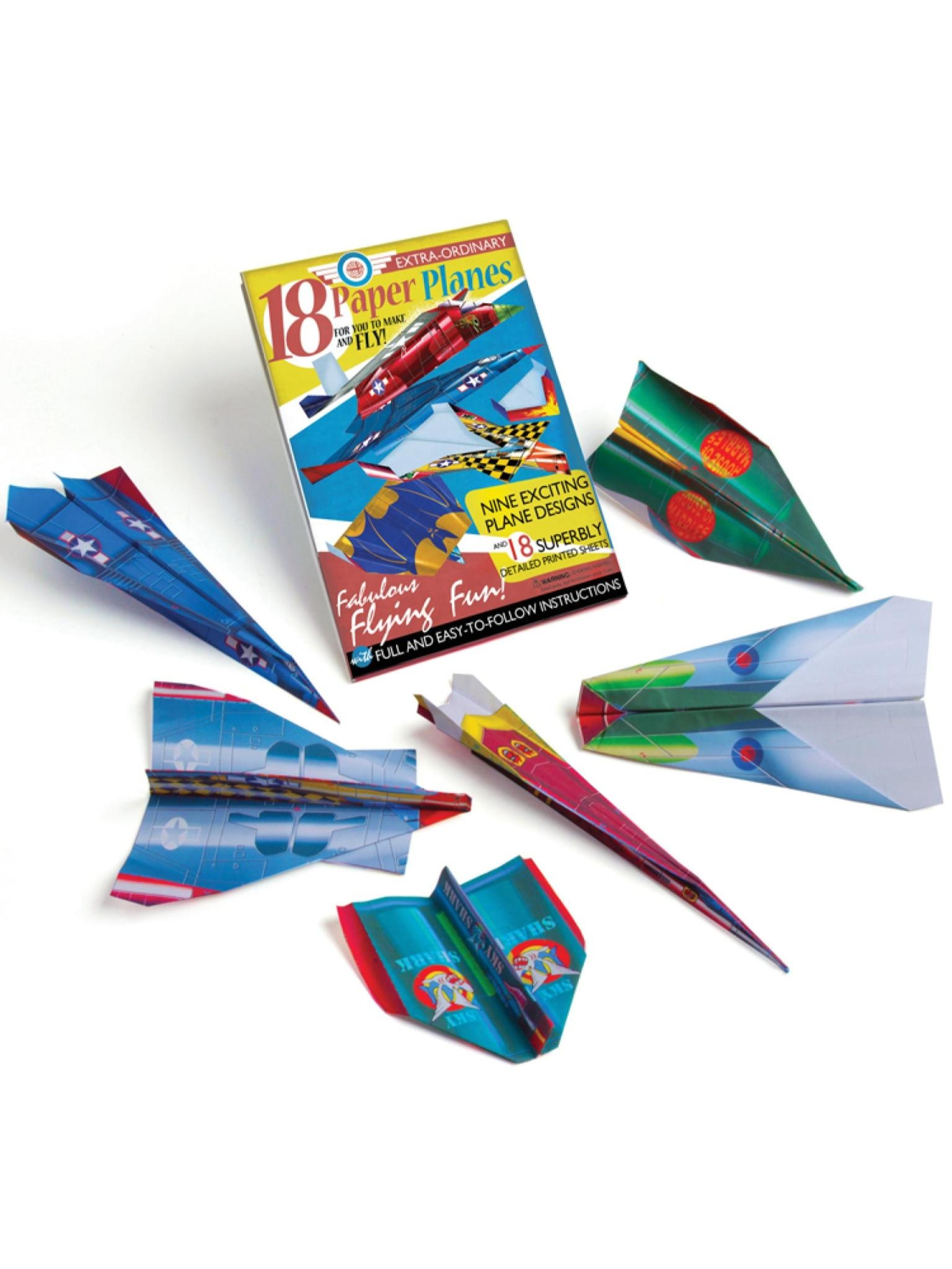 House of Marbles Paper Plane Kit