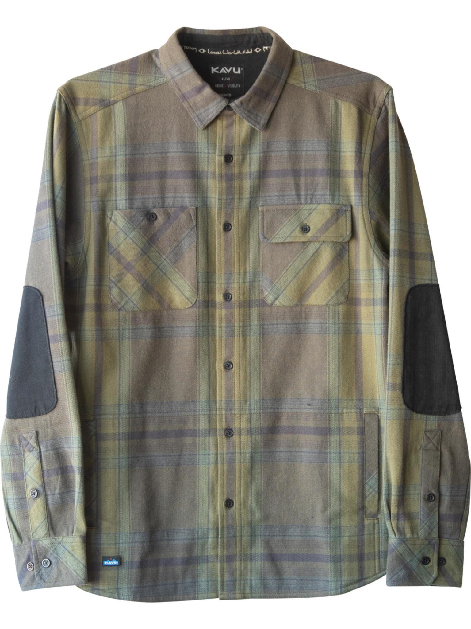 KAVU Men's Baxter Button Up Shirt Jacket