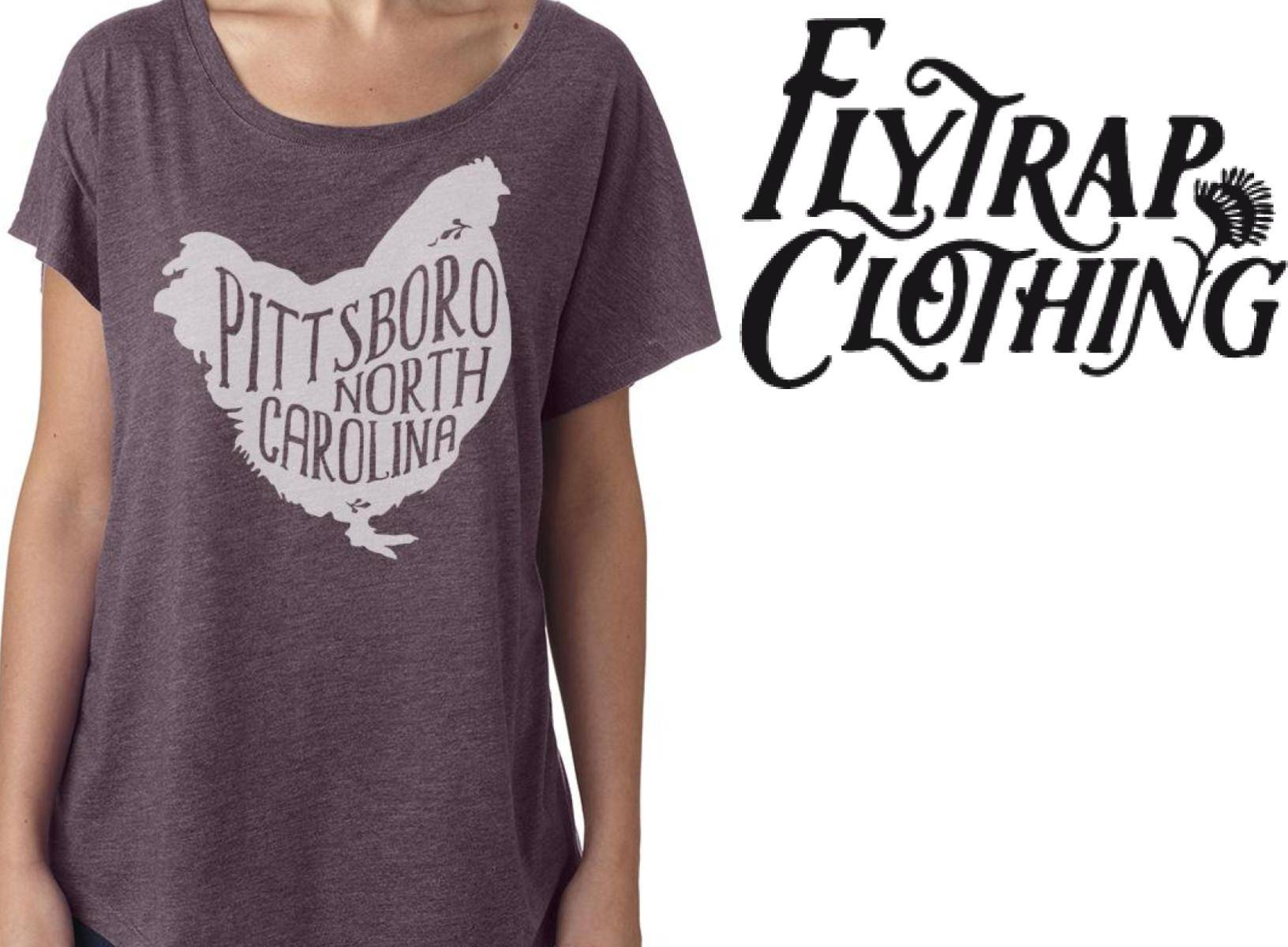"""We <i class=""""icon-apero icon--heart""""></i> Local <br> <br> Exclusive prints to show your love for Pittsboro <br> hand-printed here in town"""
