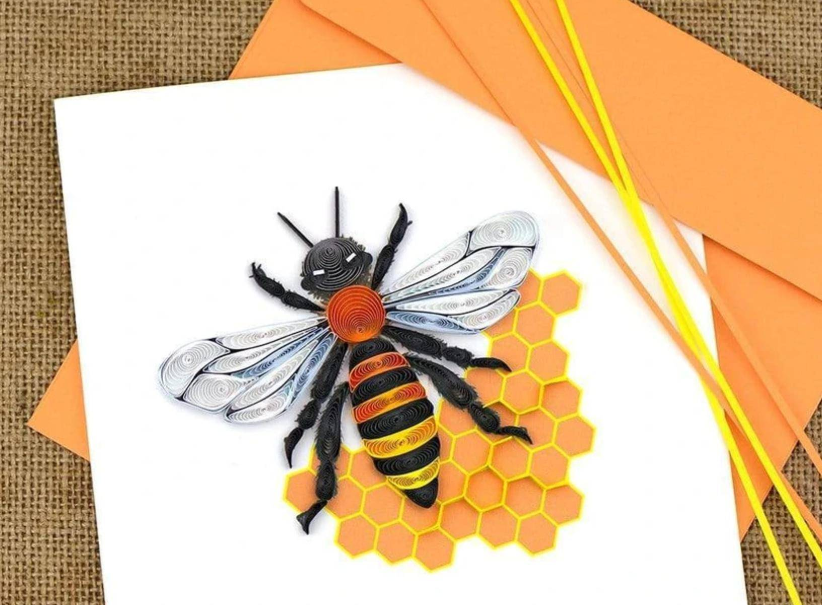 Don't just send a card, send art!<br>Handmade & Fair Trade, intricate cards from Quilling Card