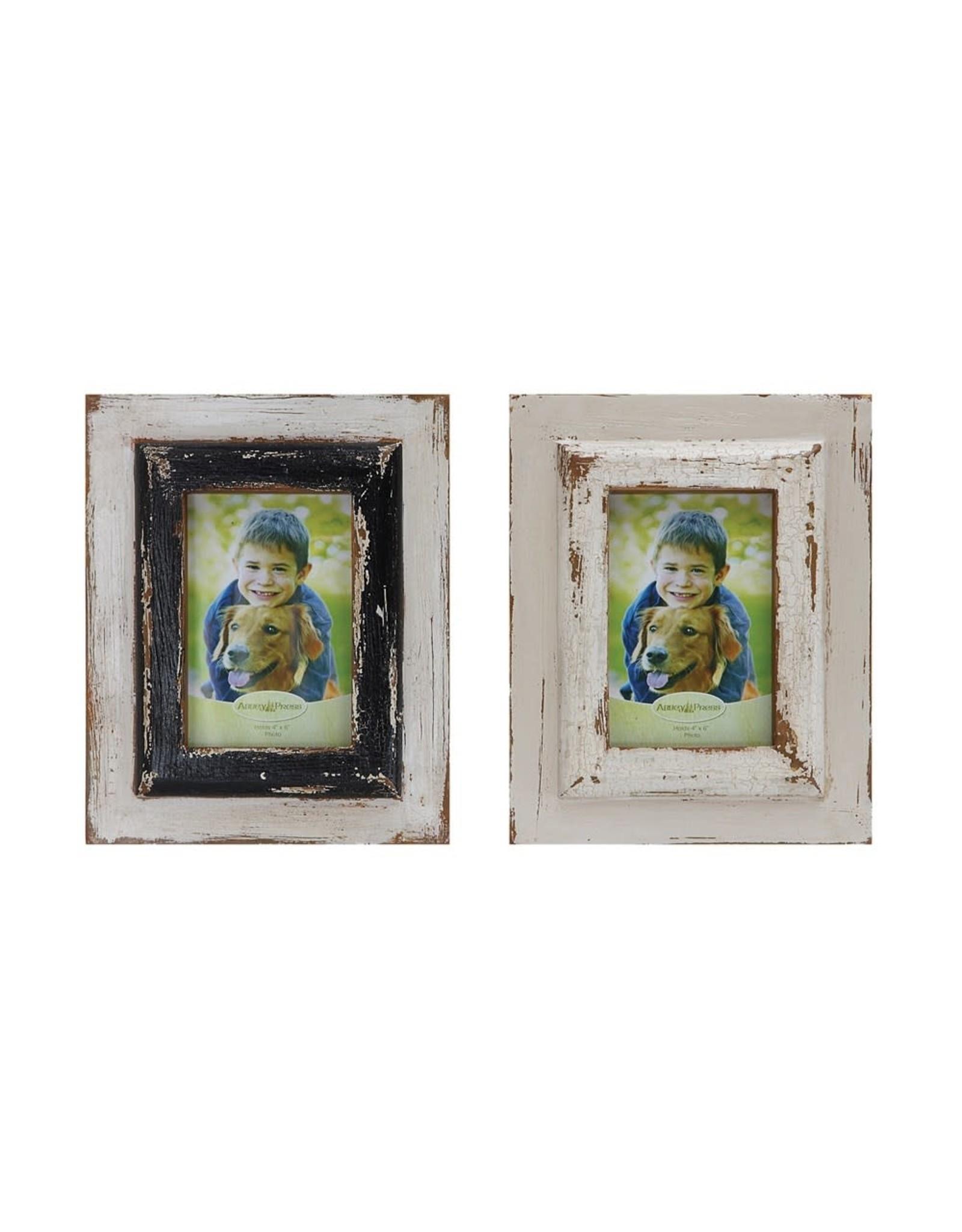 Pomp & Prose 8x10 Wood Frame White PPT