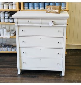 Pomp & Prose Curvy Marble Top Dresser PPT
