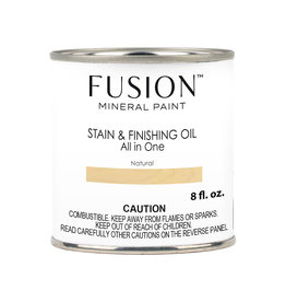 Fusion Mineral Paint Fusion Stain and Finishing Oil: Natural