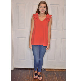 Lyla's: Clothing, Decor & More Make a Wish Red Top