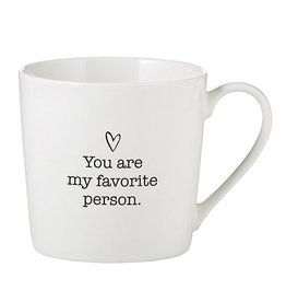 Lyla's: Clothing, Decor & More You Are My Favorite Person Coffee Mug