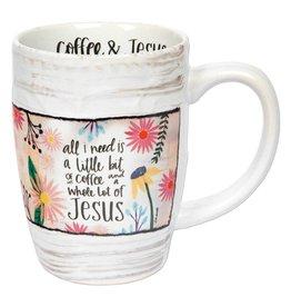 Lyla's: Clothing, Decor & More Coffee and Jesus Mug