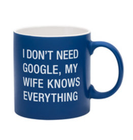 Lyla's: Clothing, Decor & More My Wife Knowns Everything Mug