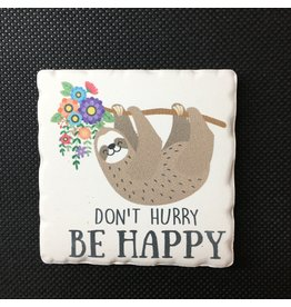 Lyla's: Clothing, Decor & More Don't Worry Sloth Magnet