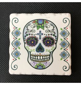 Lyla's: Clothing, Decor & More Sugar Skull Magnet