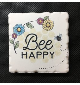 Lyla's: Clothing, Decor & More Bee Happy Magnet