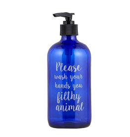 Lyla's: Clothing, Decor & More Filthy Animal Soap Bottles: Blue