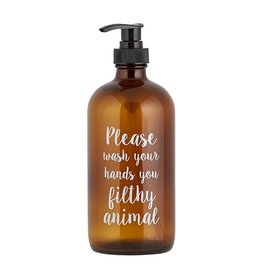 Lyla's: Clothing, Decor & More Filthy Animal Soap Bottles: Brown