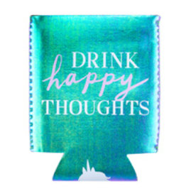Lyla's: Clothing, Decor & More Drink Happy Thoughts Koozie