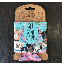 Lyla's: Clothing, Decor & More Sit Stay Drink Koozie